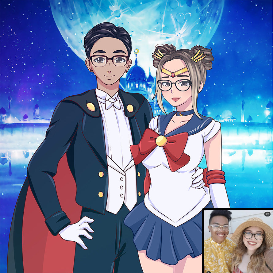 Custom Sailor Portrait (50% OFF)