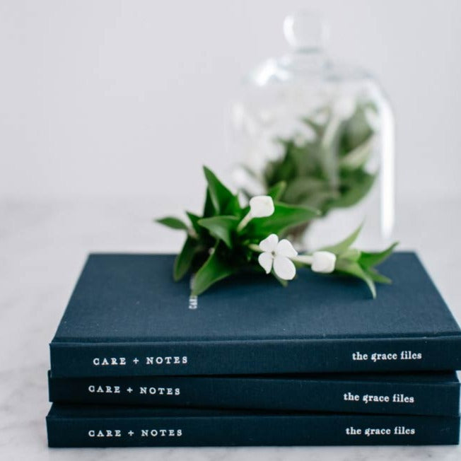 The Care + Notes Journal is designed to be a beautiful, helpful and supportive tool to accompany you throughout your treatment and to provide you with an organised place to record your medical details: • appointments, • medications, • symptoms and • questions.