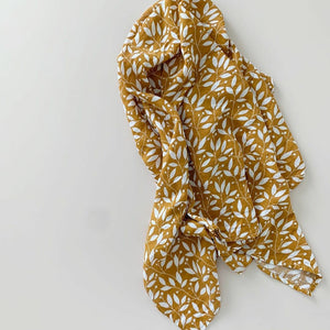 AUTUMN LEAVES ORGANIC COTTON WRAP