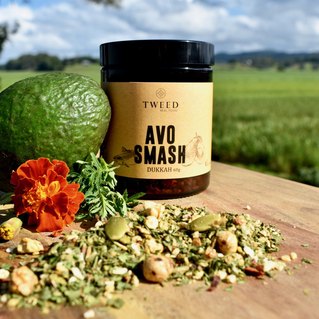 TWEED REAL FOOD - AVO SMASH DUKKAH