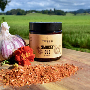 Truly authentic and perfectly balanced smokey, sweet BBQ flavours – imagine ribs, pulled pork, brisket or hump.  Use Smokey Cue as a rub or marinade, or add to tomato based dishes to create the richest flavours.