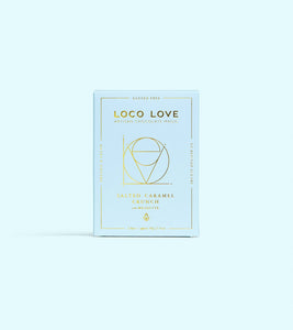 LOCO LOVE HANDMADE CHOCOLATE - SALTED CARAMEL CRUNCH