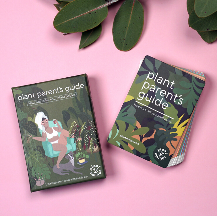 Go from plant killer to proud plant parent with our 30 illustrated care cards, featuring:  • Popular plants like monstera & peace lilies • Pet friendly & air purifying plants • Cute & interesting varieties • Holiday hacks for anxious plant parents • Tips to keep your plant babies alive • 30 large cards (13cm x 9 cm)