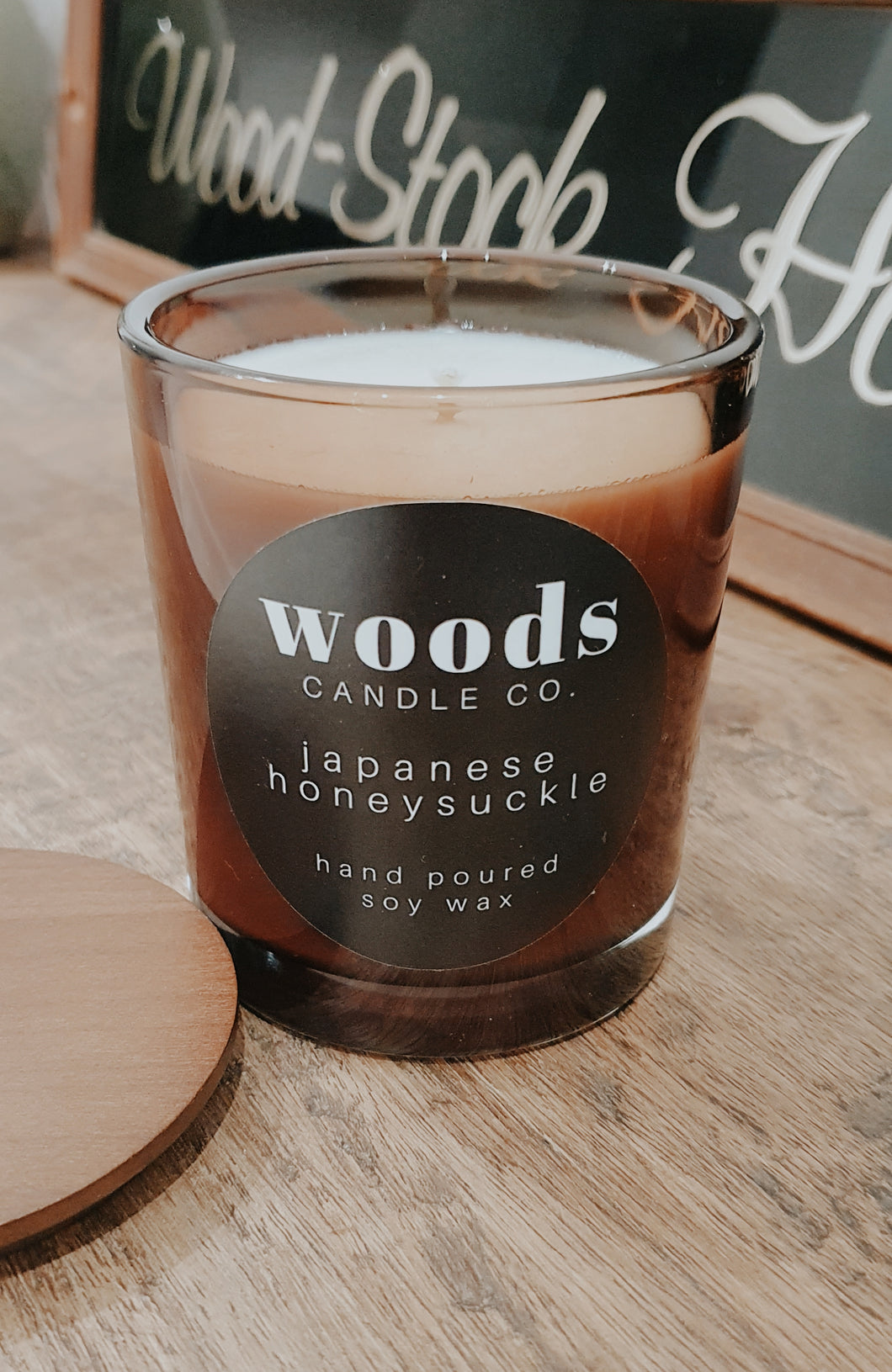 WOODS CANDLE CO - JAPANESE HONEYSUCKLE