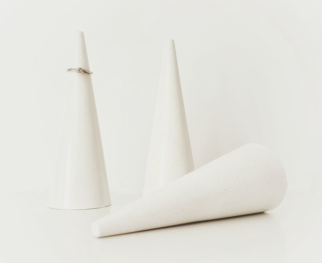 Cute, unique and a little bit spesh, these ring cones are perfect for keeping your rings safe (and easy to locate).