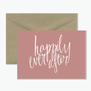 Australian designed and made  Perfect for the happy bride and groom  Printed on 100% recycled card with vegetable based inks
