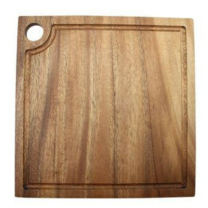 Acacia Wood Square Cheese Board 20cm x 20cm x 1.8cm
