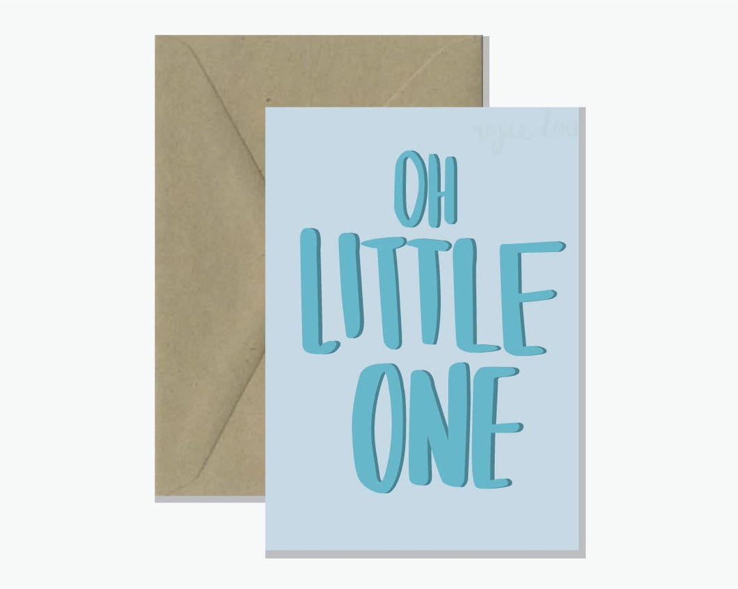 ROSIE LOU GREETING CARD - OH LITTLE ONE
