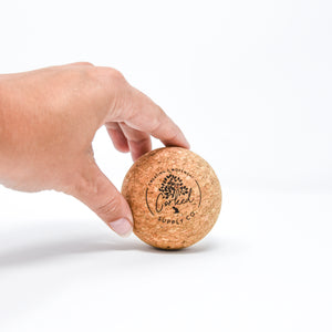 Recycled Cork Massage Ball