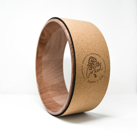 Image of Recycled Cork Yoga Wheel