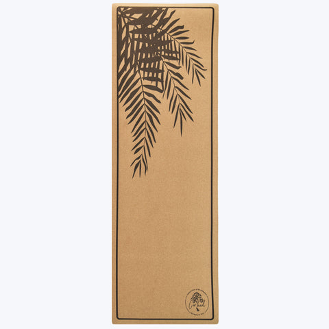Image of Recycled Cork Fern Yoga Mat