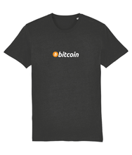 Load image into Gallery viewer, Bitcoin Logo Tee Dark