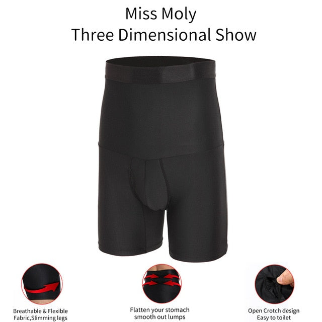 Mens Compression Shorts Body Shaper