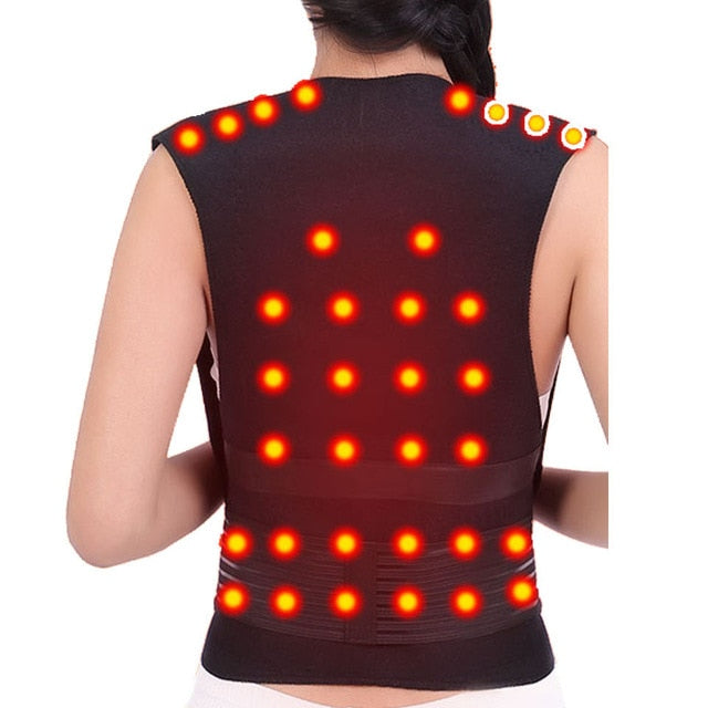 Tourmaline Self-heating Brace for Spine Back Shoulder