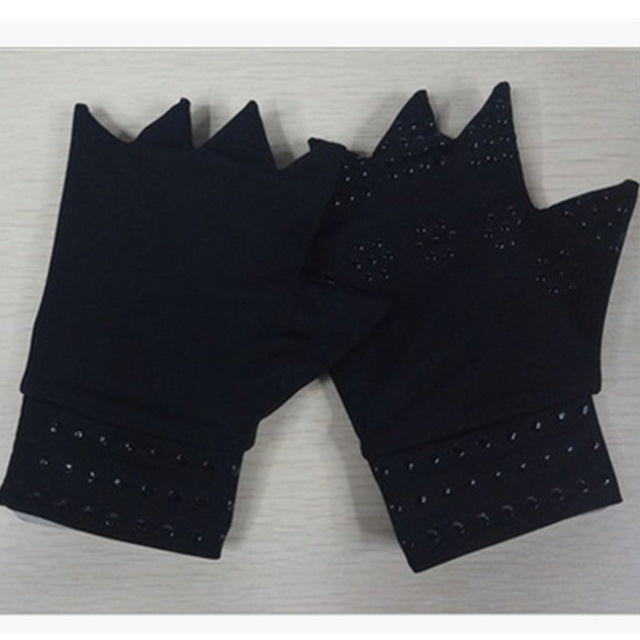 1Pair Magnetic Therapy Gloves Wrist Support Anti Arthritis Hand Protector