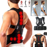 Posture Corrector Male Female Magnetic Back Support