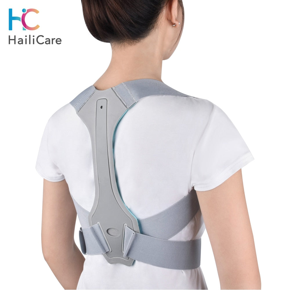 Posture Back Corrector Clavicle Spine Back Shoulder Support Belt Back Pain Relief