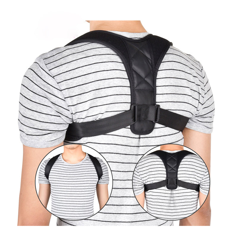 Brace Support Belt Adjustable Back Posture Corrector Adult Children