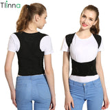Tlinna Back Posture Corrector Therapy Corset Spine Support Belt for Men Women