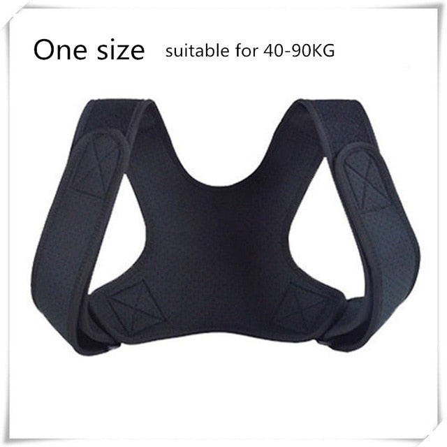 Adjustable Posture Corrector Back Support Shoulder