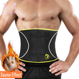 LANFEI Men Waist Trainer Belts Sauna Slimming Body Shapers