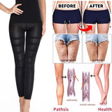 Anti Cellulite Compression Leggings Leg Slimming Body Shaper