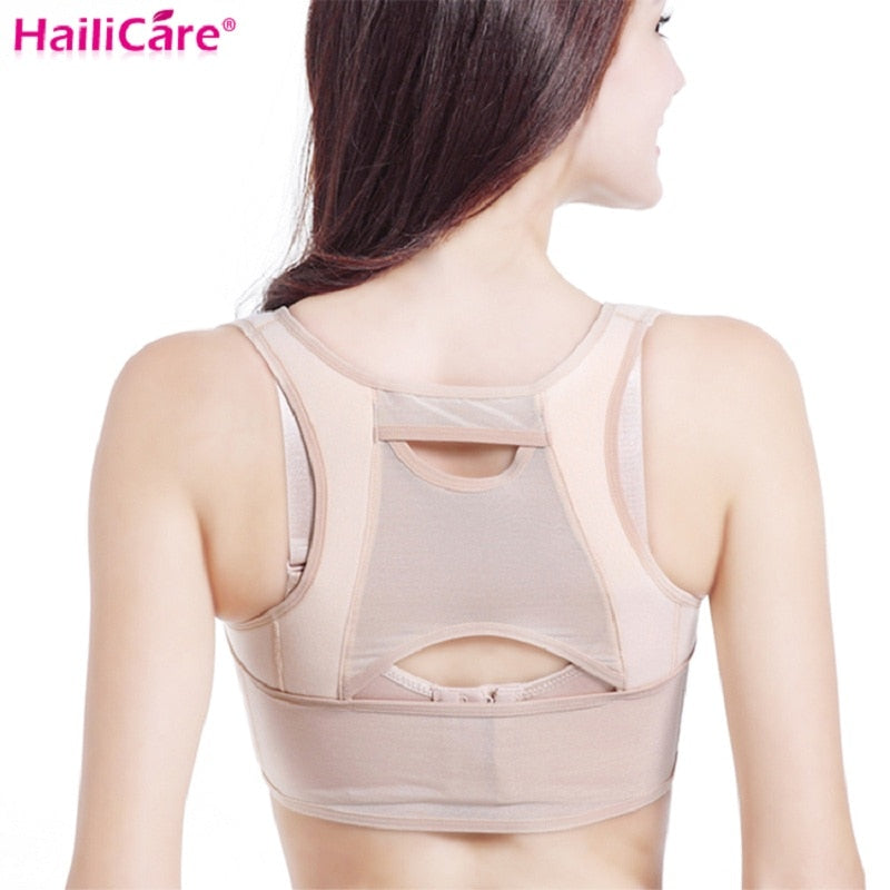 Women Back Posture Corrector Upper Back Shoulder Spine Clavicle Support Belt