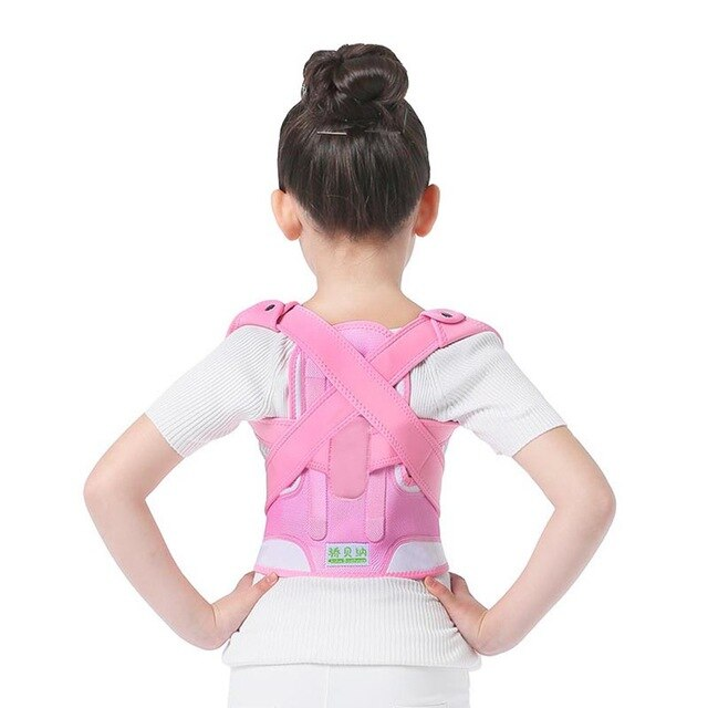 Adjustable Children Posture Corrector Back Support Belt Kids Orthopedic Corset