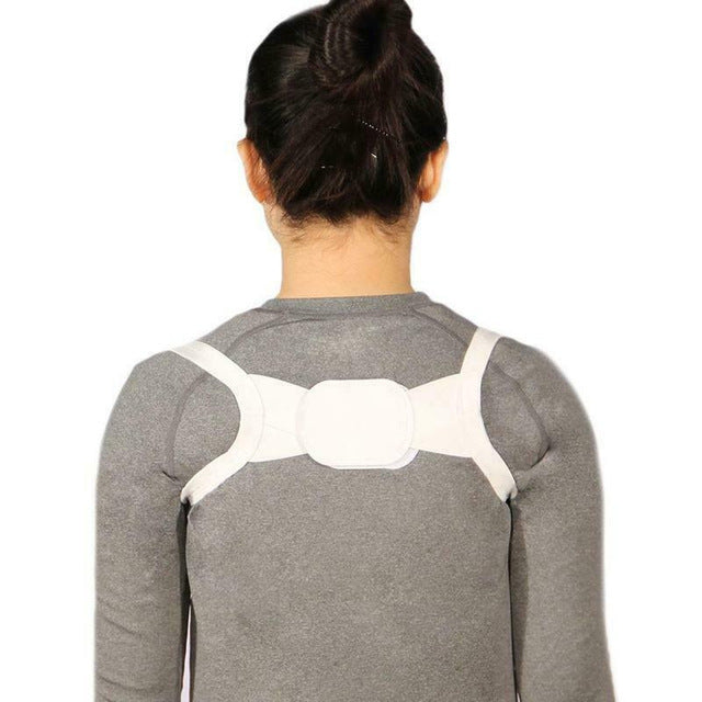 Newly Unisex Invisible Back Shoulder Posture Corrector Orthotic Spine Support Belt 19ing