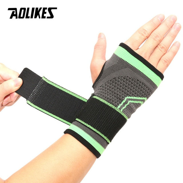 AOLIKES 1PCS High Elastic Bandage Fitness Yoga Hand Palm Brace