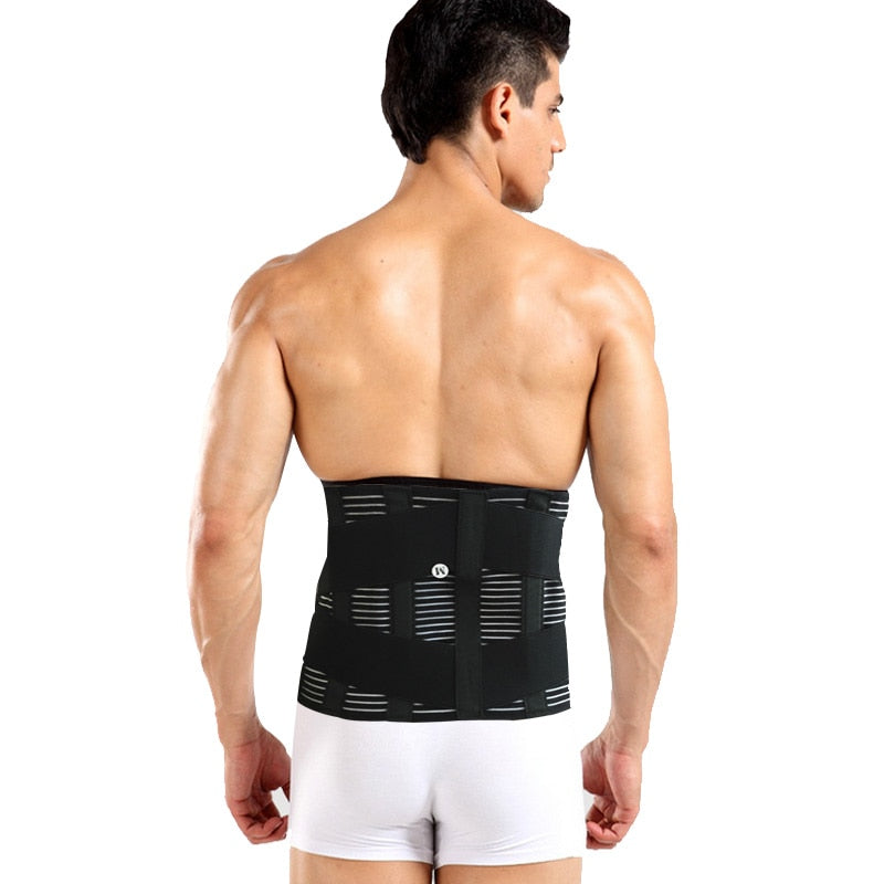 Orthopedic Back Support Brace Posture Correction Men Women Breathable Lumbar Corset Belts