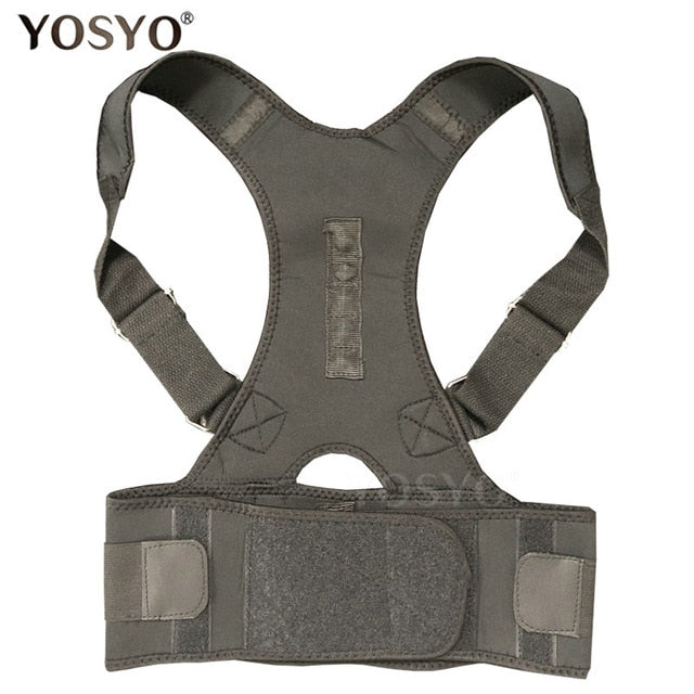 YOSYO Posture Corrector Adjustable Shoulder Back Brace