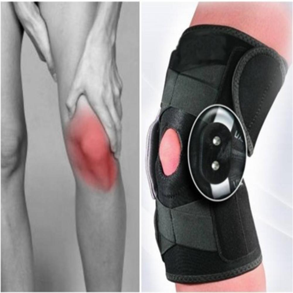 Knee Brace Stabilizer with Adjustable Hinged Knee Support