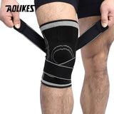 AOLIKES 1PCS 2019 Knee Support Brace Basketball Tennis Cycling
