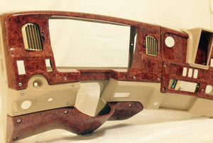 Wood Grain Style Complete Dashboard