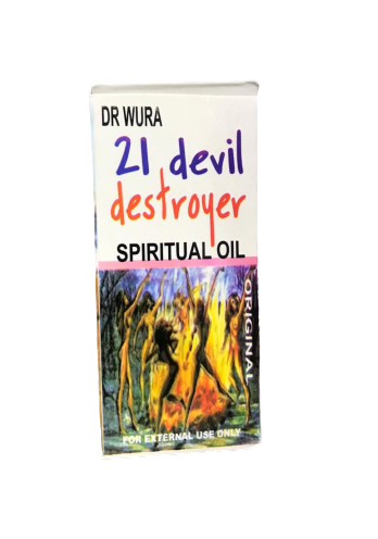 21 Devil Destroyer Spiritual Oil