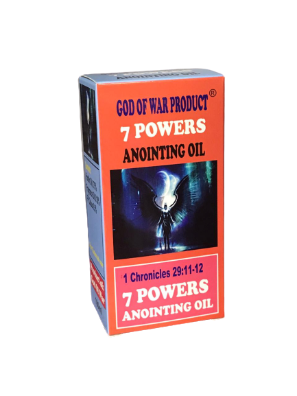 7 POWERS ANOINTING OIL