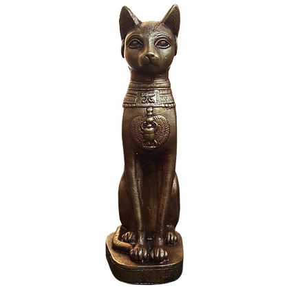 BAST/BASTET - EGYPTIAN CAT GODDESS 21CM