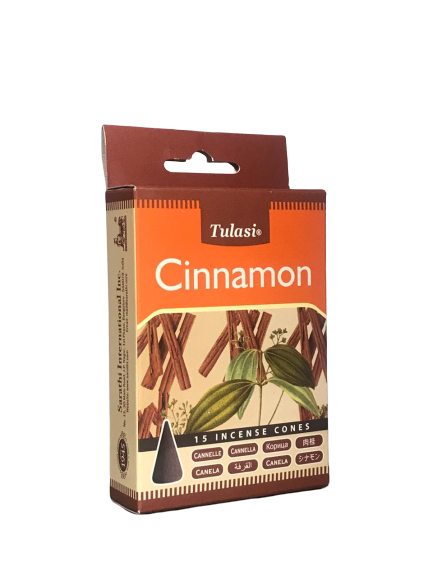 TULASI CINNAMON INCENSE CONES