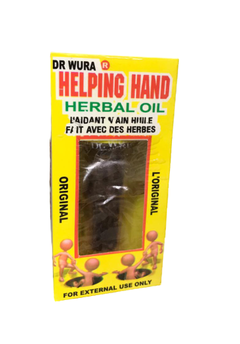 Dr. Wura Helping Hand herbal oil