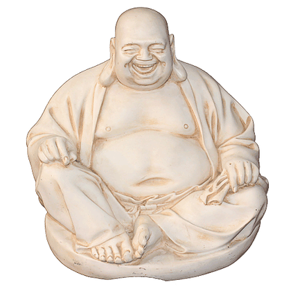 LAUGHING BUDDHA SITTING 29 CM