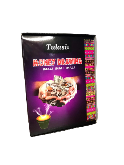 TULASI MONEY DRAWING INCENSE CUPS