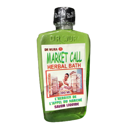 Dr. Wura market call herbal bath