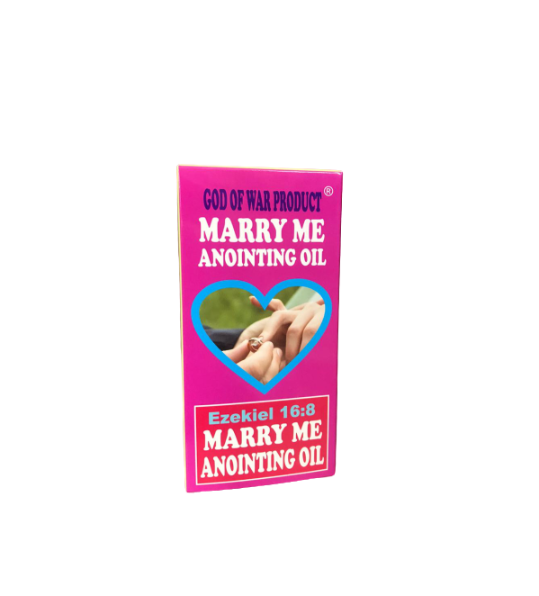 MARRY ME ANOINTING OIL