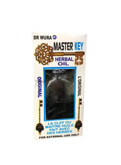 Dr wura master key herbal oil
