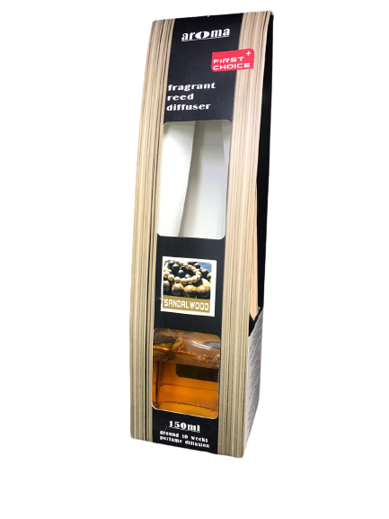 AROMA FRAGRANT REED DIFFUSER (SANDALWOOD )