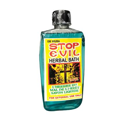 Dr. Wura stop evil herbal bath