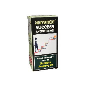 SUCCESS ANOINTING OIL