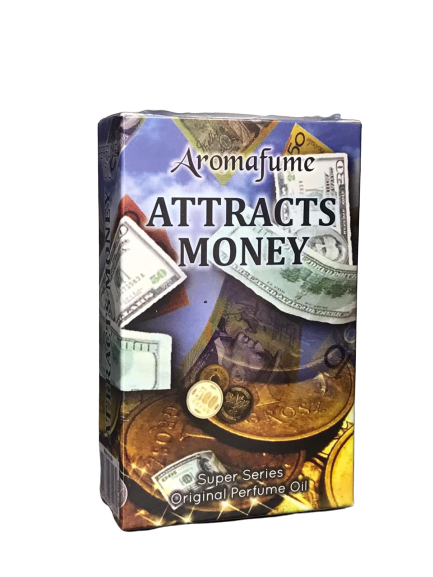 Attract money perfume oil
