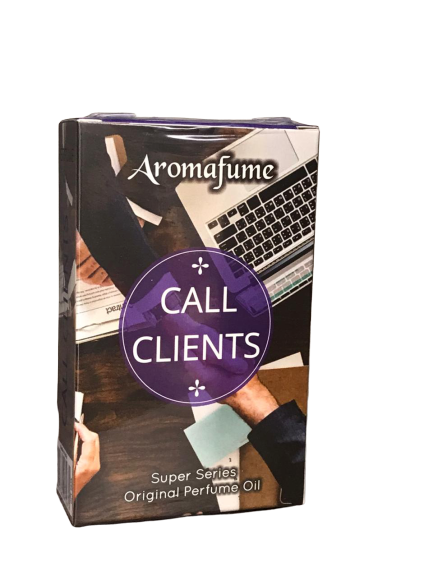 Call Clients Aromafume Oil
